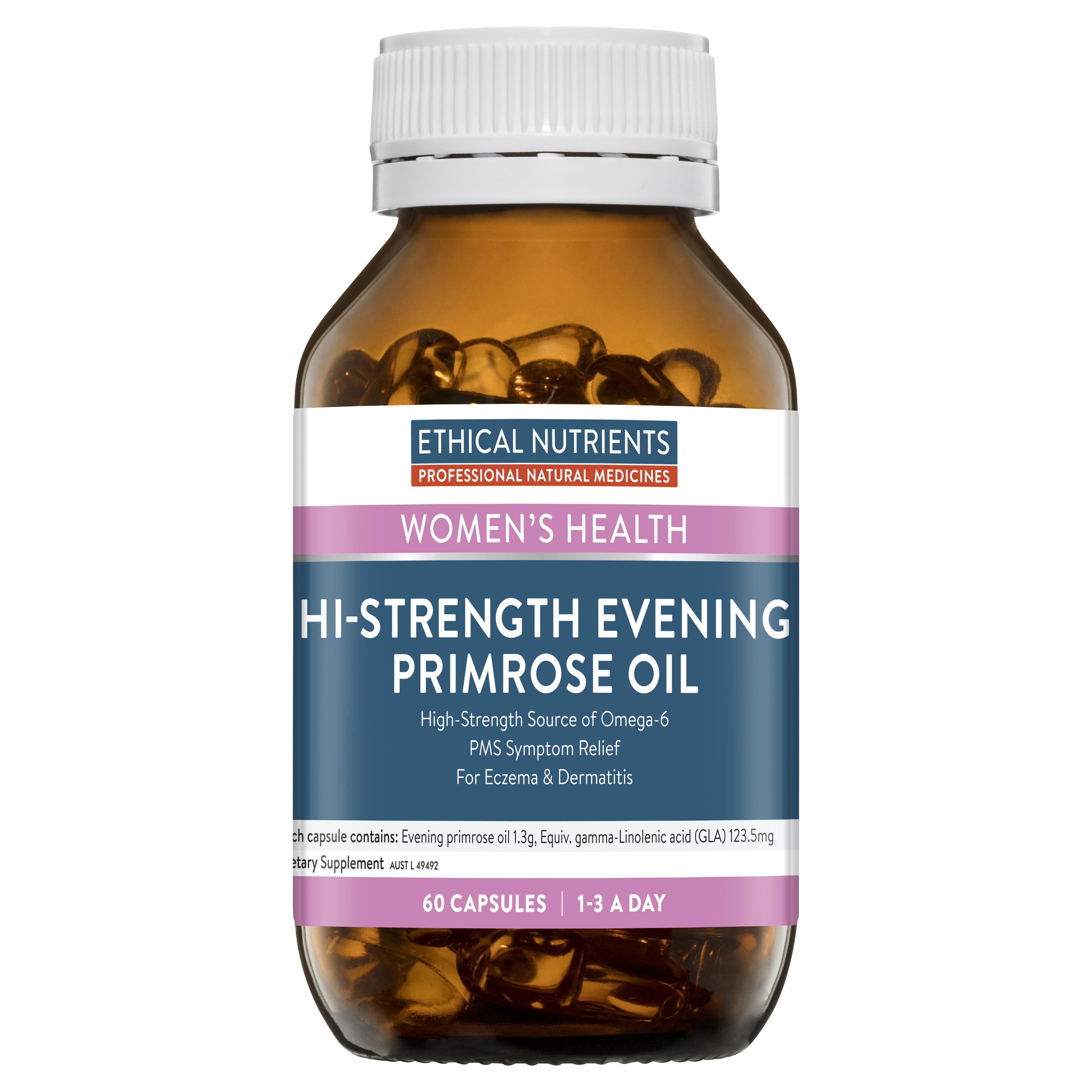 Ethical Nutrients Hi-Strength Evening Primrose Oil 60