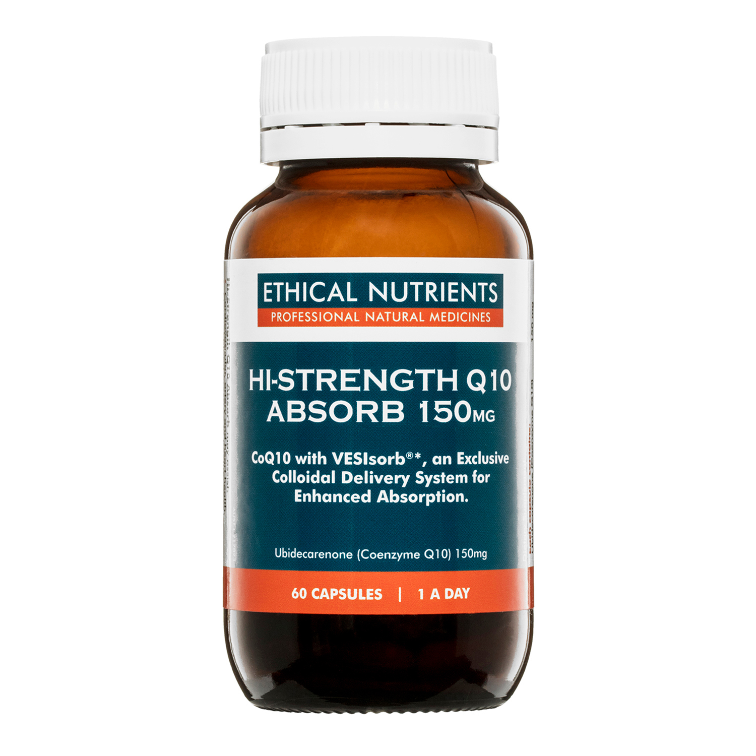 Ethical Nutrients Hi-Strength Q10 Absorb 150mg x60 Caps
