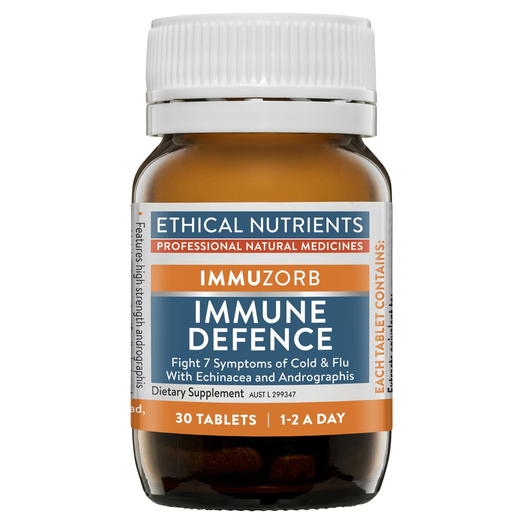 Ethical Nutrients Immuzorb Immune Defence x30 Tabs
