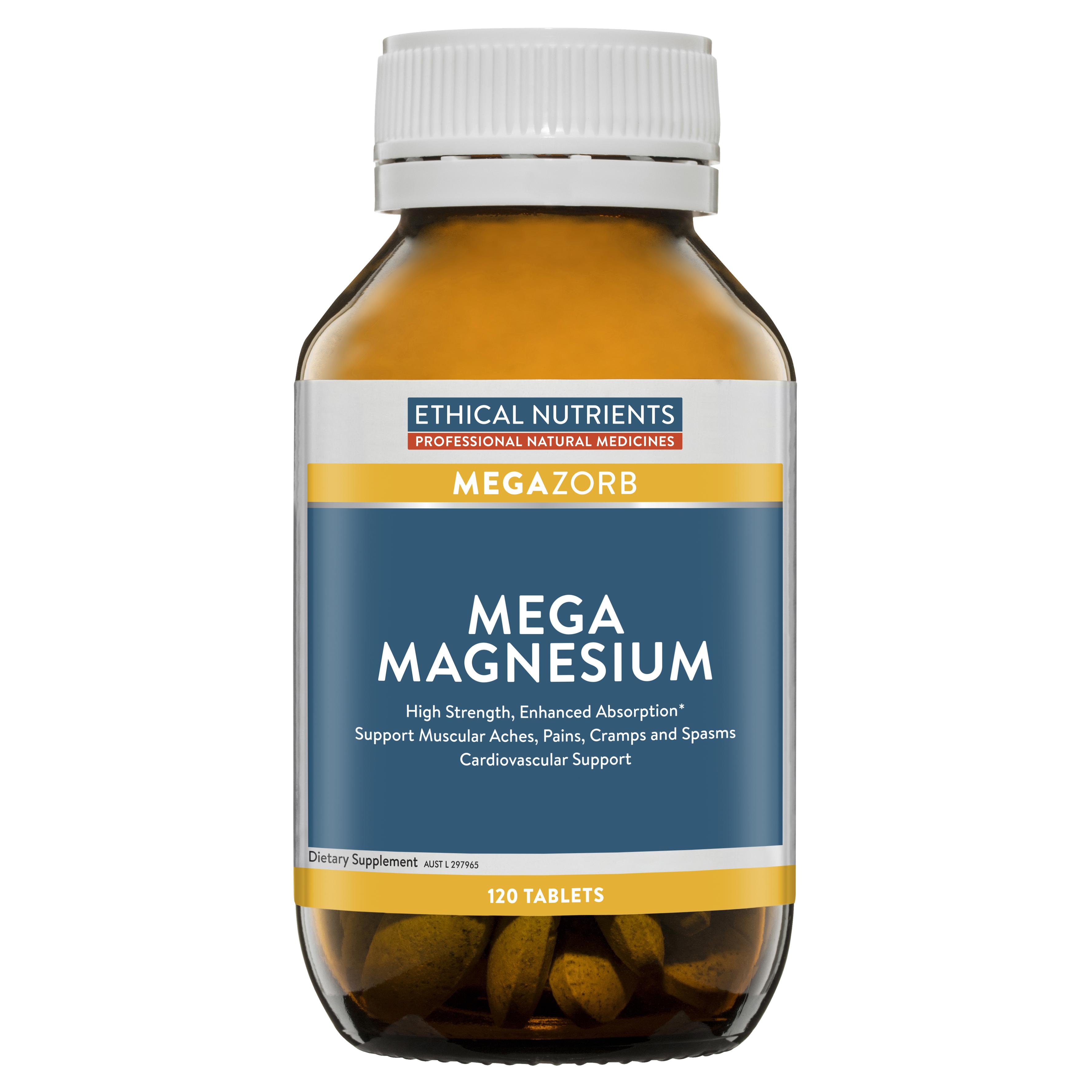 Ethical Nutrients Mega Magnesium 60