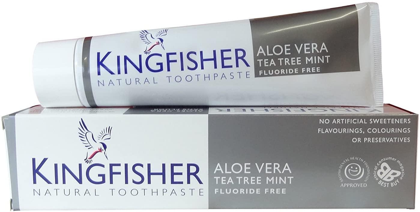 Kingfisher Toothpaste Aloe Vera Tea Tree Mint