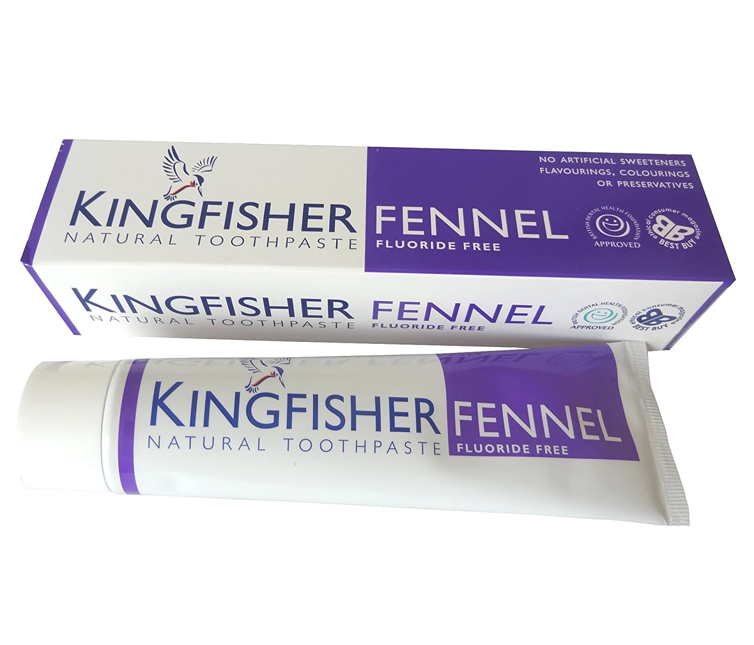 Kingfisher Toothpaste Fennel (With Fluoride) 100ml
