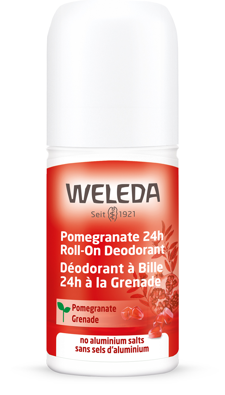 Weleda 24hr Roll On Deodorant Pomegranate