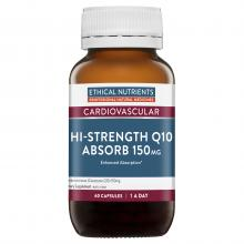 Ethical Nutrients Hi-Strength Q10 Absorb 150mg 60