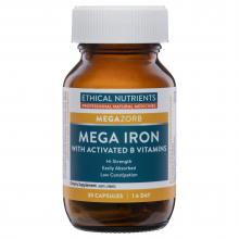 Ethical Nutrients MEGAZORB Mega Iron with Activated B