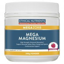 Ethical Nutrients MEGAZORB Mega Magnesium Raspberry
