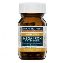 Ethical Nutrients Megazorb Mega Iron with Activated B's​