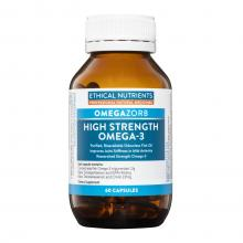 Ethical Nutrients Omegazorb High Strength Omega 3 x60 Caps