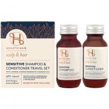 Holistic Hair Sensitive Shampoo + Conditioner Travel Set