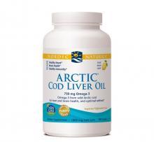 Nordic Naturals Arctic Cod Liver Oil-Lemon x180 gels