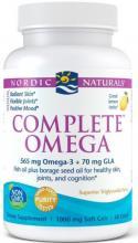 Nordic Naturals Complete Omega Lemon x120