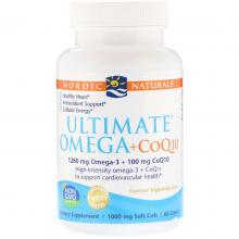Nordic Naturals Ultimate Omega +CoQ10 Unflavoured